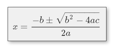 Zoomed equation