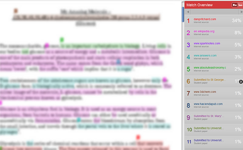 how to avoid turnitin detection