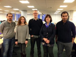 The team after a successful e-assessment session