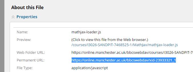 Permanent URL