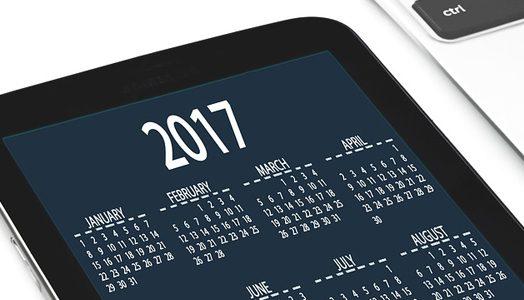 Mobile Phone Calendar